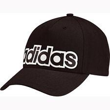 Adidas Cappy mit Logo Schwarz Basecap Baseballmütze Schirmmütze ClimaLite Mütze