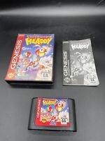 Dynamite Headdy - Complete Authentic Sega Genesis Game See Pics!