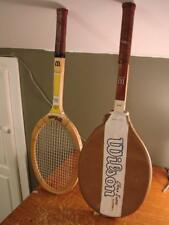 Lot of 2 Chris Evert Wilson Tennis Rackets Racquets One With Cover Nice