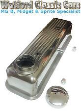 alliage cache culbuteur pour MG Midget 1500 & TRIUMPH avec chromé Bouchon &
