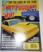 Popular Hot Rodding Magazine Stars Of The Super Chevy Show December 1989 090414R