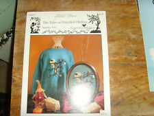 The Tales of Haunted Hollow Spooy Tree leaflet Halloween cross stitch design