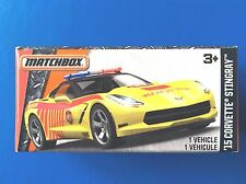 2016 Matchbox Power Grabs 2015 CHEVROLET CORVETTE STINGRAY FIRE RESCUE mint!