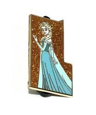 Disney Pin Trading D23 Expo Castle Collection Mystery Gold Glitter Elsa Frozen