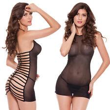 New Hot Women Sexy Lingerie G String Dress Underwear Babydoll Sheer Sleepwear