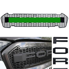 LED Grille For Ford Ranger T7 Pickup Raptor Style 2015 2016 2017 Front Mesh