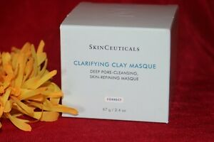 SKINCEUTICALS CLAY CLARIFYING MASQUE MASK FULL SIZE 2 OUNCES SEALD BOX AUTHENTIC