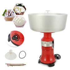 100w Electric Fresh Milk Cream Separator Centrifugal Machine 80 100lh New