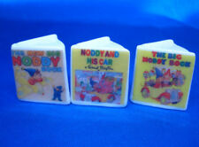 Birchcroft Thimbles -- Miniature Book Style  -- Set of 3  Noddy