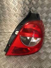 2007 RENAULT CLIO MK3 HATCHBACK DRIVER RIGHT REAR LIGHT 89035080