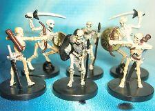 Dungeons & Dragons Miniatures Lot  Warrior Skeleton Skeletal Archer !!  s116