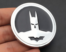 Chrome Metal Batman Logo Dark Knight Mask Car Trunk Emblem Badge Decal Sticker