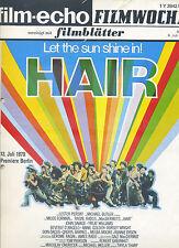 film-echo Filmwoche Nr. 37 (1979) Hair Let the sun shine in John Savage Kino