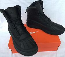 Nike ACG Woodside II 525393-090 Water Black Leather Duck Boots Shoes Men's 7.5
