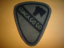 Vietnam War Hand Sewn Subdued Patch US 1st Cavalry Division GUNS A-GO-GO Det.
