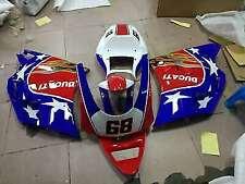 Painted Fairing Bodywork ABS Body Kit for Ducati 748 996 916 998 Mono/Biposto CR