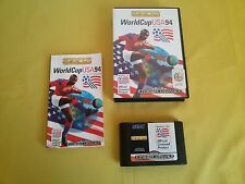 WORLD CUP USA 94 Videogioco SEGA MEGA DRIVE Manuale Game Cartridge CIB TESTATO !