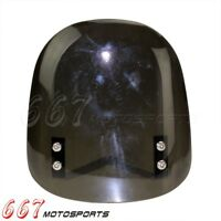 ABS Windshield Buell Style DIY Fly Windscreen Universal For Custom Streetfighter
