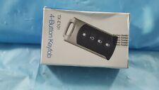 New Interlogix TX-E101 4-button Chrome Wireless Keyfob