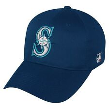Seattle Mariners Hat MLB Replica Adjustable Pre-Curved Baseball Cap Adult