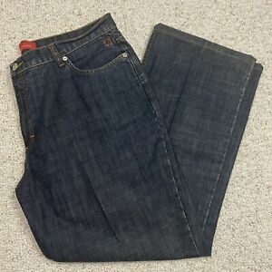 Anne Klein Womens Jeans sz 16 Medium Wash Denim Bootcut Leg 100% Cotton Casual