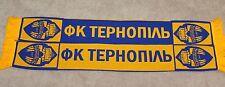Ukrainian Ukraine Football Soccer Scarf of Team FC Ternopil'