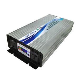Pure Sine Wave Power Inverter Full 2500W Peak 5000W 12/24/48V to 220V 240V 50HZ