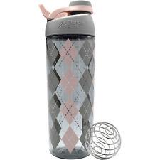 Blender Bottle elegante 28 OZ Twist-On tapa de la Coctelera Botella Con Loop Top-Argyle