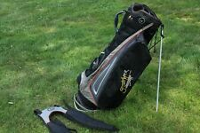 Callaway Warbird Carry Stand Golf Bag Grasshopper Beer Black Gray generic strap