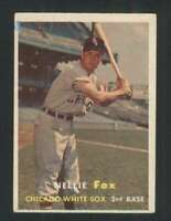 1957 Topps #38 Nellie Fox VGEX White Sox 121669