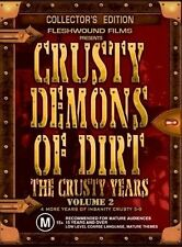 Crusty Demons Of Dirt - The Crusty Years : Vol 2 (DVD, 2004, 4-Disc Set)(D87)