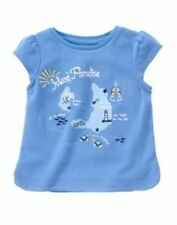 NWT GYMBOREE GREEK ISLE BLUE ISLAND PARADISE SHIRT 12-18 MO Free US Shipping