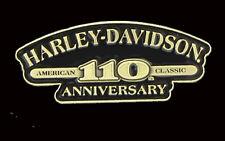 HARLEY DAVIDSON 110TH ANNIVERSARY CLASSIC TEXT  PIN