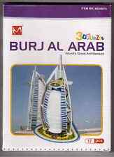BURJ AL ARAB, DUBAI, 3D PUZZLE 17 PCS WORLD'S GREAT ARCHITTECTURE