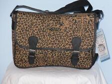 Super Lightweight Satchel Bag In Leopard Print.