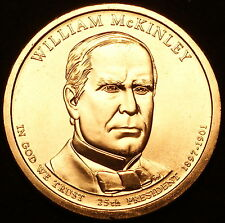 2013 P William McKinley Presidential Business Strike ~ Pos A ~ From US Mint Roll
