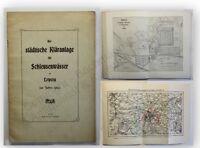 Die städtische Kläranlage für Schleusenwasser zu Leipzig 1903 Technik Betrieb xy