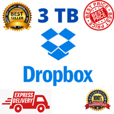 Dropbox Premium 3TB ✔️ LifeTime Account ⭐ Custom Account ⭐ Fast Delivery ✔️