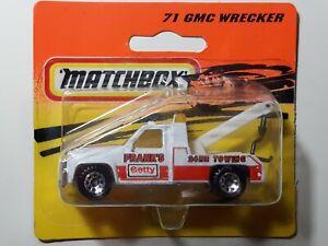 Matchbox No 71 GMC Wrecker In Blister Pack