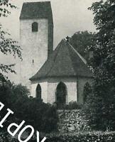 Freiburg im Breisgau : Alte Dorfkirche in Haslach um 1960       A 19-28