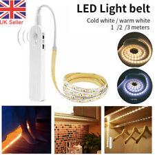 Sensor de movimiento PIR Batería LED Tira Luces Lámpara De Armario Ropero Inalámbrico Hogar Reino Unido