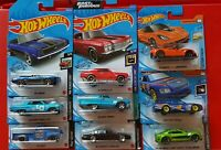 Hot Wheels Chevy Chevrolet Starter Kit 9 Cars including TREASURE HUNT