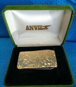 Vintage Anvil Money Clip Knife File Box NOS