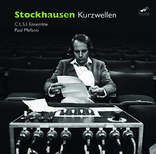 STOCKHAUSEN: Kurzwellen – CLSI Ensemble – MODE CD SEALED