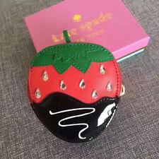 Women's Accessories Chocolate Dipped Strawberry Creme De La Creme Coin Purse