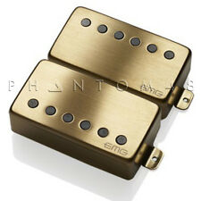 EMG Pickups 57 Bridge 66 Neck Humbucker Set Brushed Gold Active