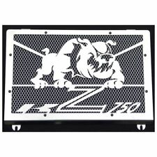 cache / Grille de radiateur inox poli Kawasaki Z750 04>06 Bulldog + grill alu