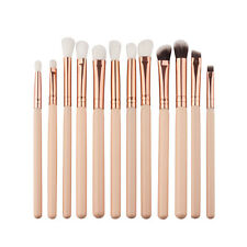 12Pcs Mini Cosmetic Eyebrow Eyeshadow Brush Makeup Brush Sets Kits Tools Newest