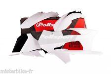 Kit plastiques Coque Polisport  KTM SX-F 250 350 450 Année 2011  Couleur Blanc