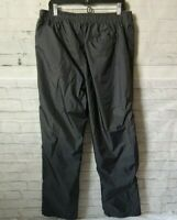 Saddlebred Sport Mens Gray Nylon - Lined All Weather Athletic Pants Size Large
